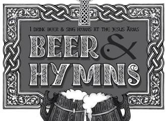 Beer & Hymns tshirt